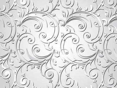 Grey artistic design background