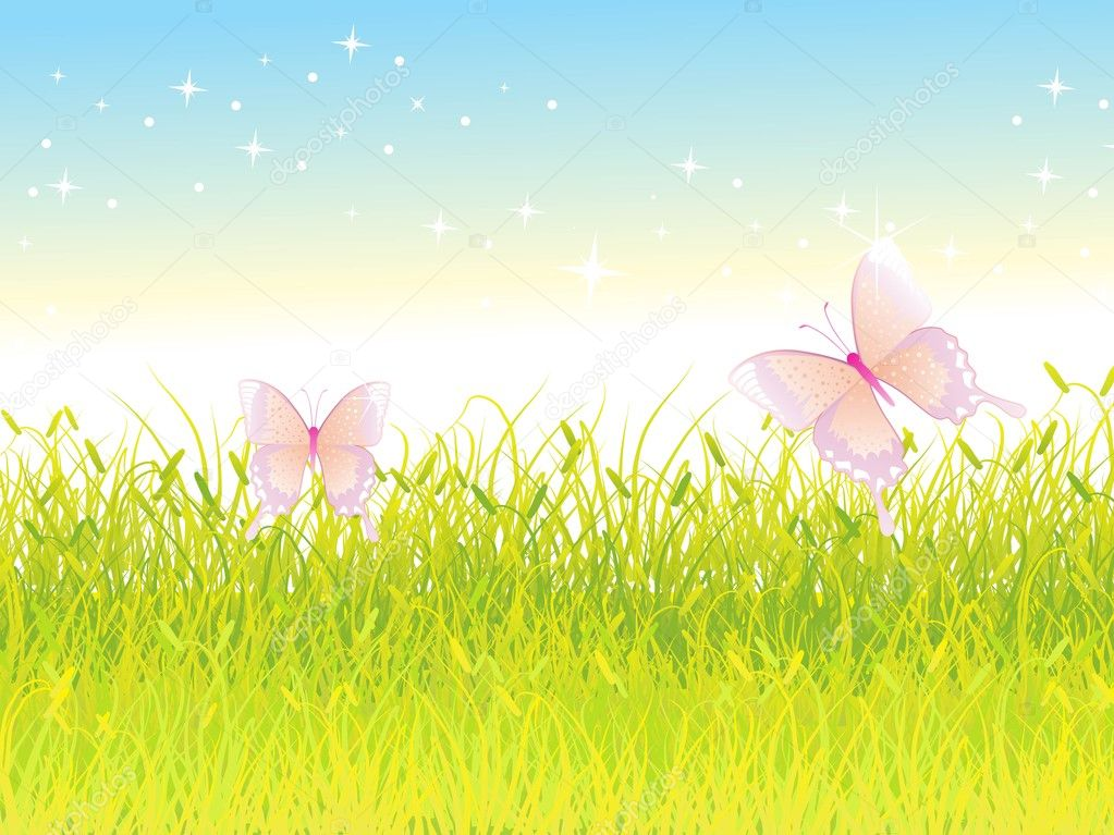 Abstract natural background illustration