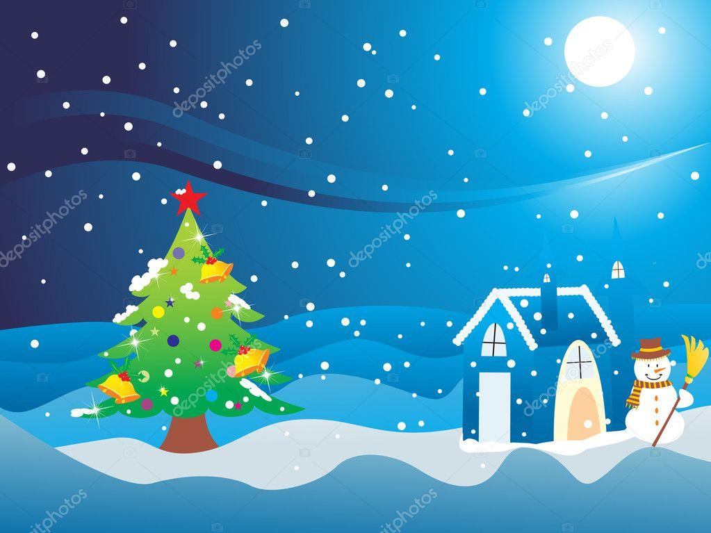 Wallpaper für frohe Weihnachten — Stockvektor © alliesinteract #2442736