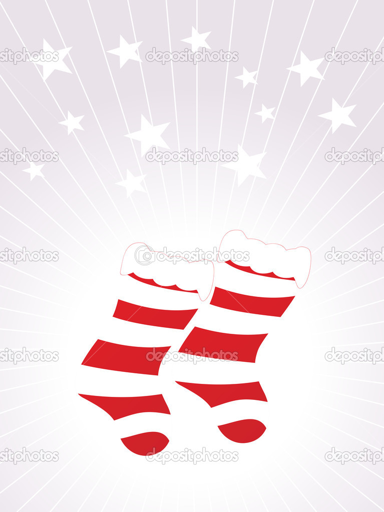 Christmas socks vector wallpaper stock vector alliesinteract christmas socks vector wallpaper vector by alliesinteract voltagebd Choice Image