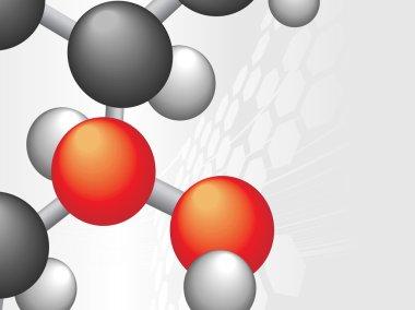Model of molecules
