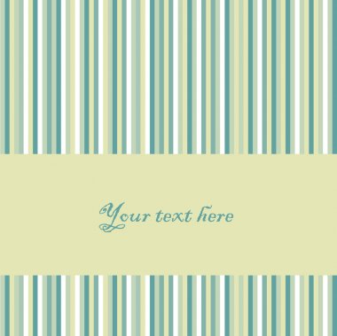 Vector retro striped background