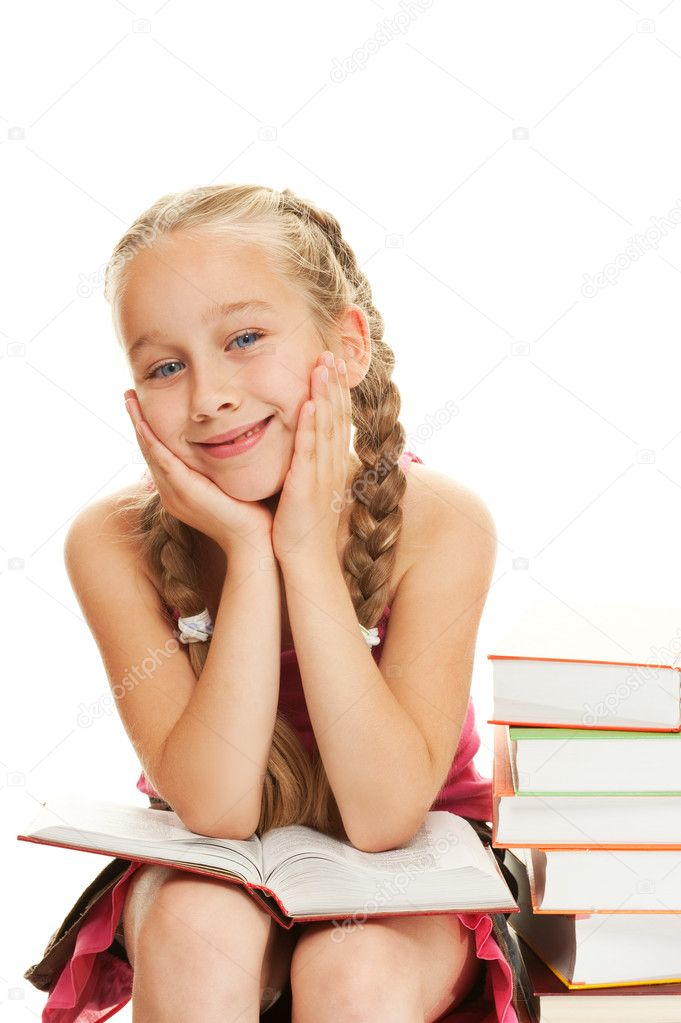https://static3.depositphotos.com/1001951/172/i/950/depositphotos_1728077-stock-photo-happy-little-schoolgirl-sitting-on.jpg