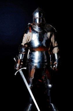 Heavy knight in position