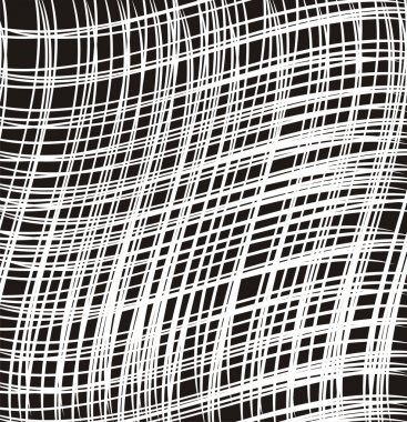 Monochrome vector fabric texture
