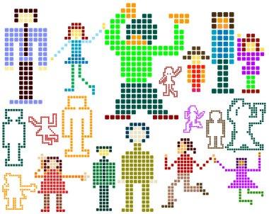 Pixels;