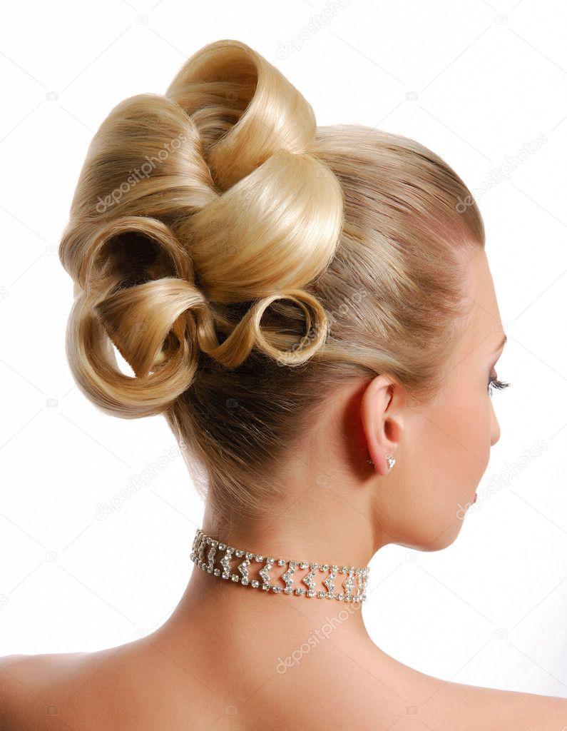 Peinado De Novia Modernos Fotos De Stock C Valuavitaly 1503990