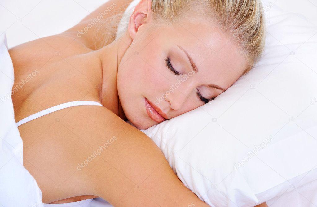 sovande lesbiska sex