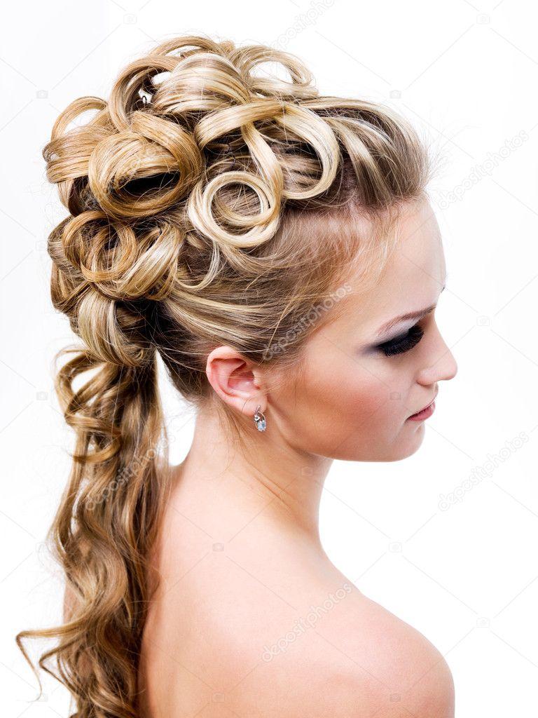 Peinado De Novia Modernos Fotos De Stock C Valuavitaly 2552422