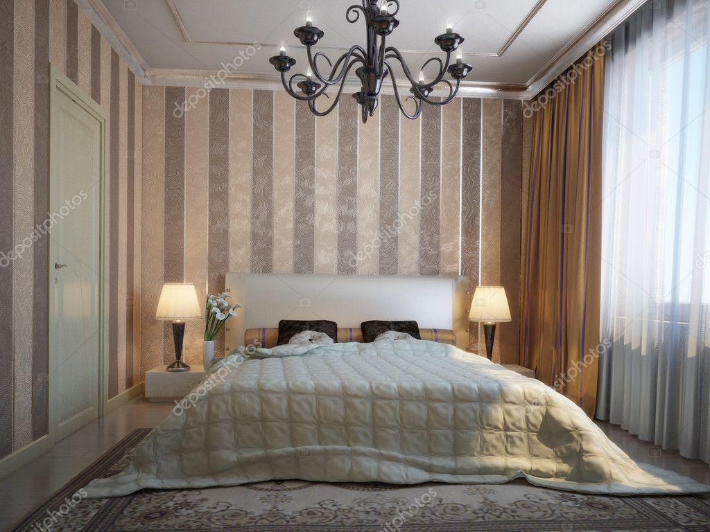 schönes Schlafzimmer — Stockfoto © vertexoff #1707878
