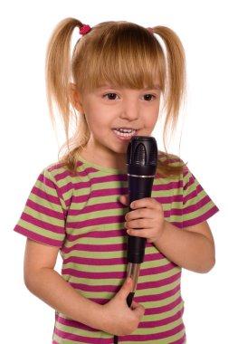Singing child