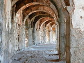 Photo Arch gallery in ancient amphitheater