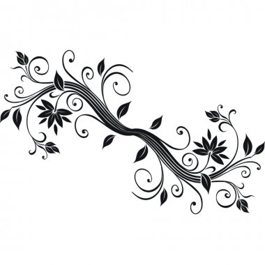 Flower design.Vector image