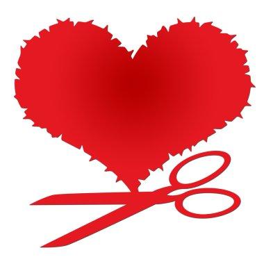 Heart and Scissors