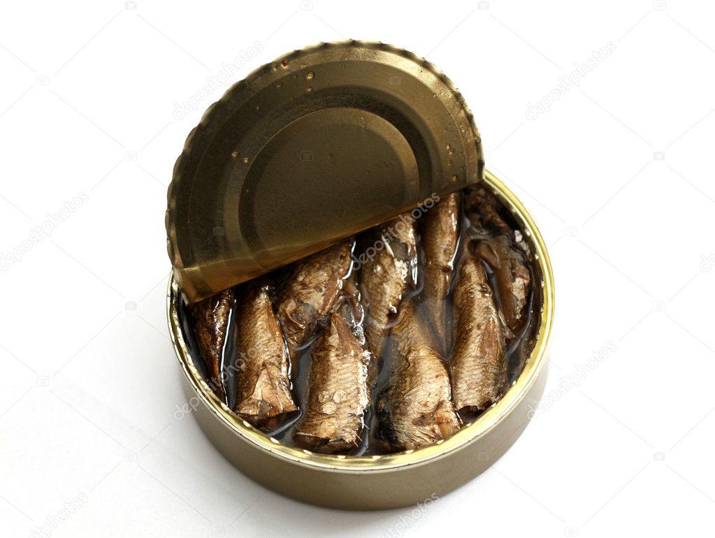 Open tinned goods