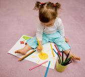 Fotografie Childrens drawing