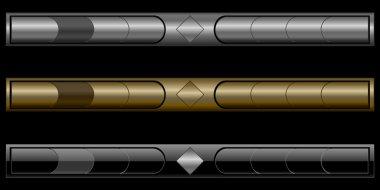 Stylish navigation bars