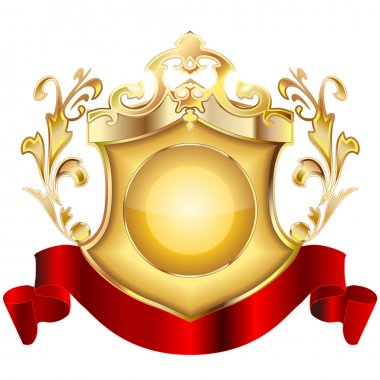 Heraldic shield v.2