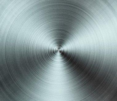 Circullar metallic texture