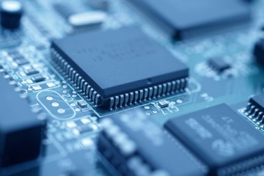 Futuristic technology - image of a cpu