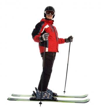 Skier man