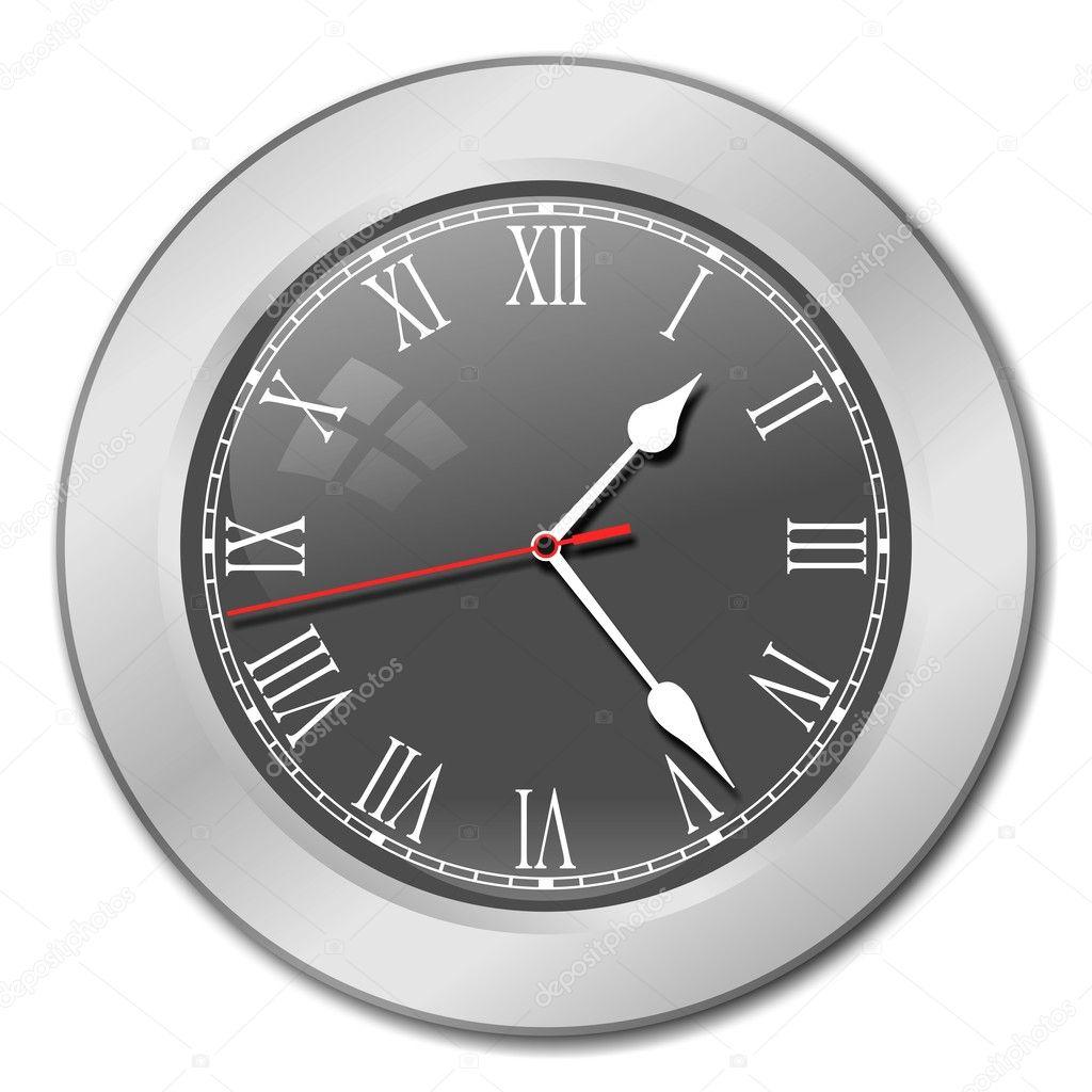 Horloge grise photographie okeen 1447953 for Horloge grise