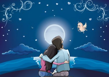 Love Couple horizont