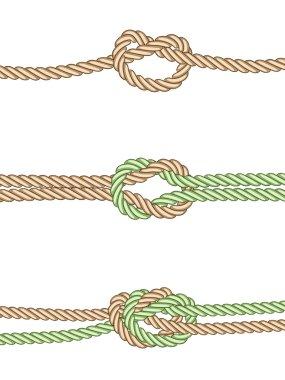 Different knots
