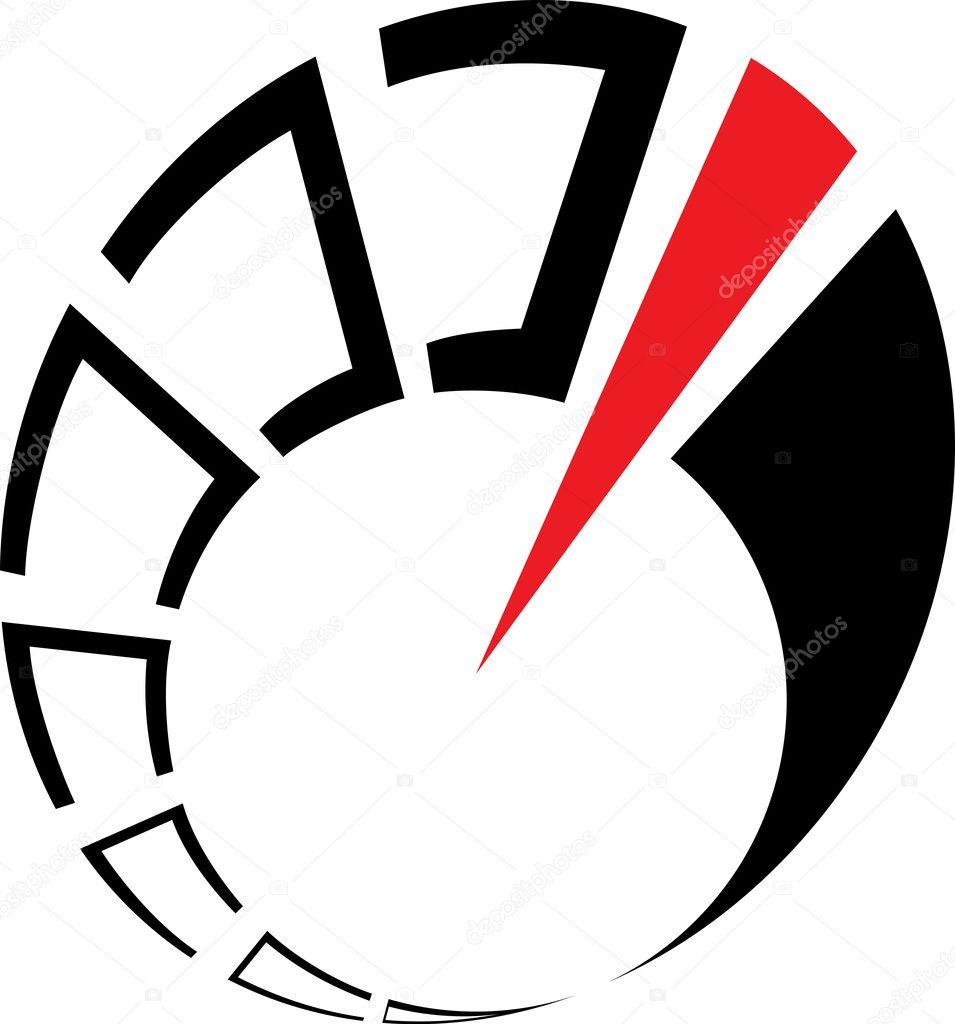 abstract speedometer stock vector averole 1526091 rh depositphotos com speedometer vector cdr speedometer vector or scalar