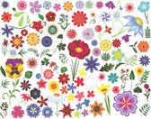 Floral design elemek