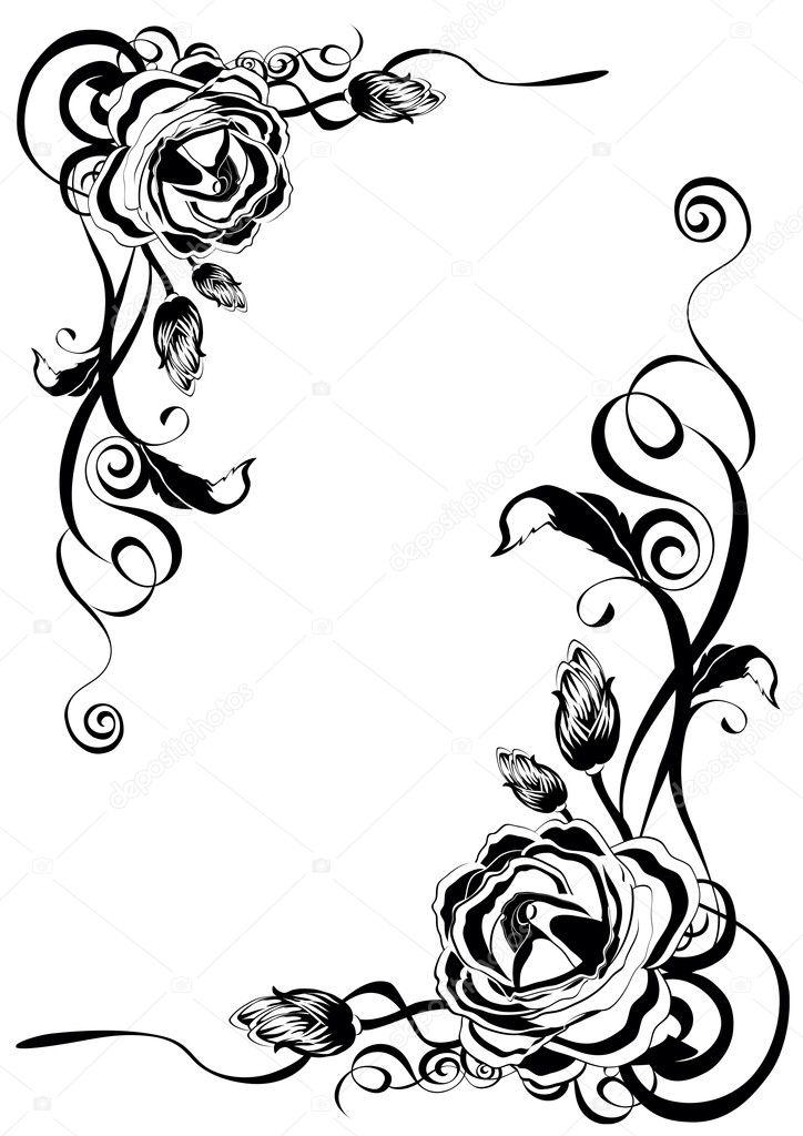 Decorative roses