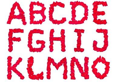 Petal Alphabet pt.1