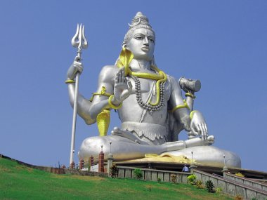 God Shiva statue
