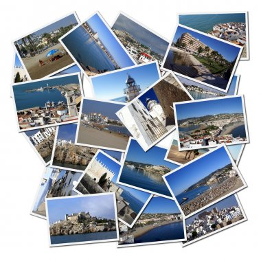 Photographs of Peniscola in Spain (Europ