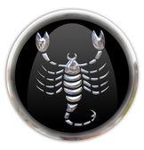 Fotografia pulsante con lo zodiacale segno Scorpione