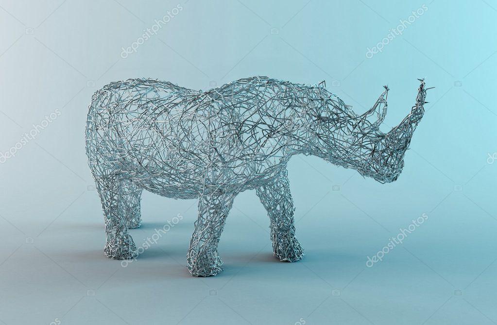 Wired rhino