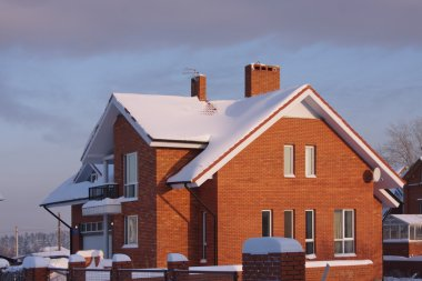 New cottage in the winter