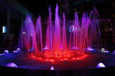 Bright beautiful fountain
