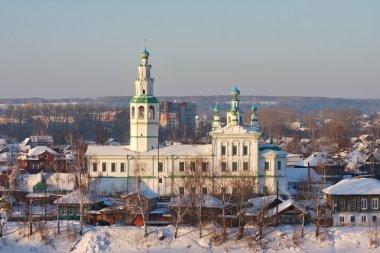Church in the city of Perm region Kungur