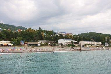 Beach in Sochi