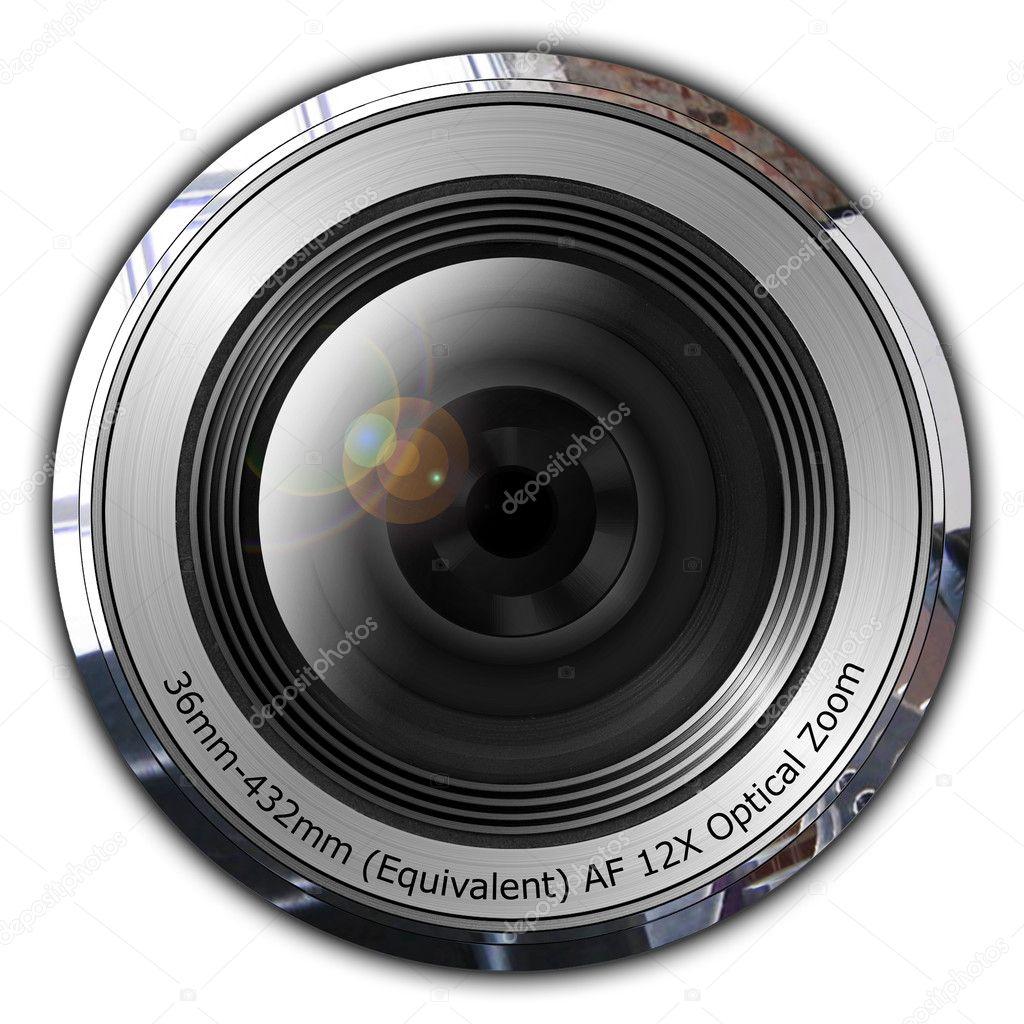 kamera-objektiv — Stockfoto © Decapitated #1484710