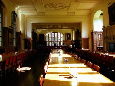 Dining hall in the College