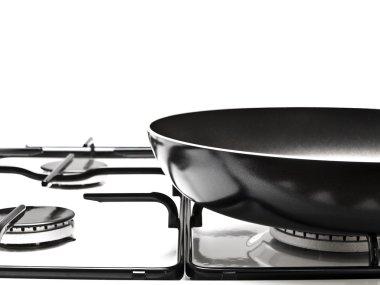White gas-stove