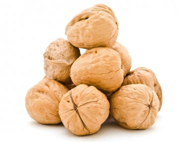 Walnuts pyramid