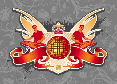 Disco emblem