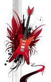 Fotografie Heavy-Metal-Gitarre