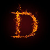 Fotografie Fire letter