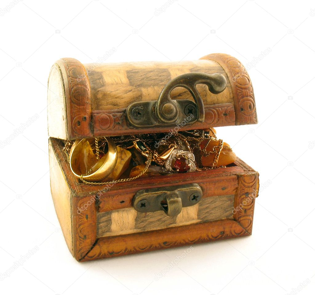 Full chest of treasure