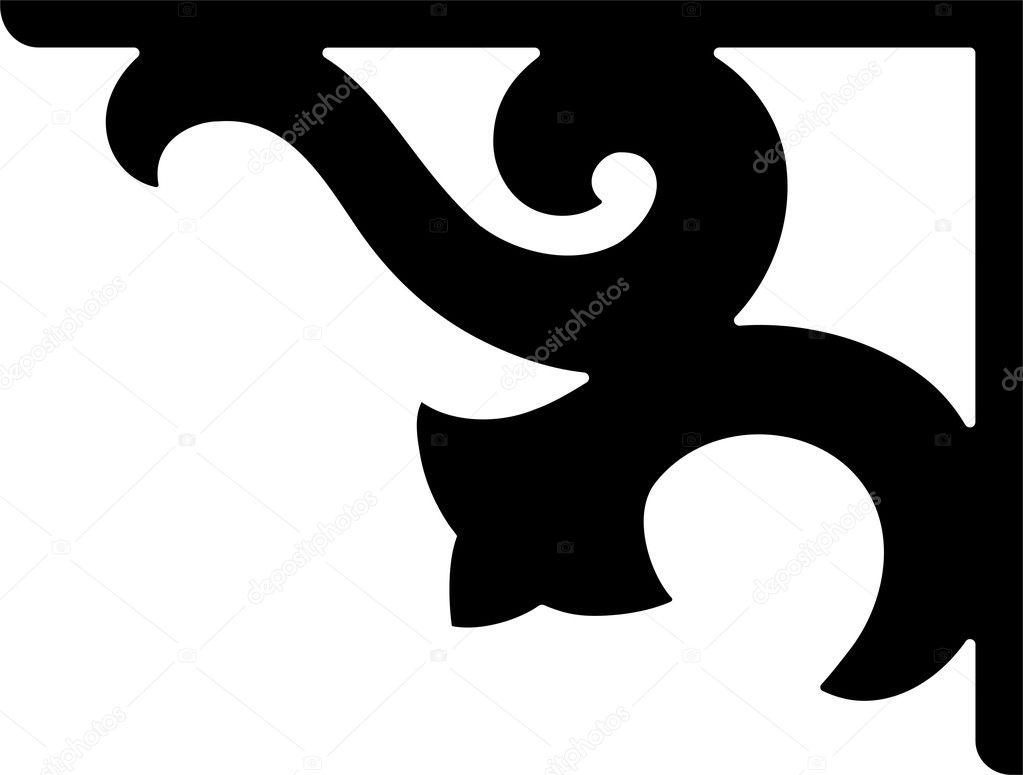 Corner Border Design Stock Vector 169 Riazwork 1529201