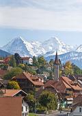 podzim ve švýcarských Alpách